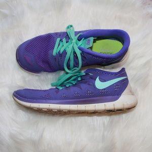Woman's Purple Nike Free Size 8.5